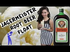 Jagermeister Root Beer Float - Tipsy Bartender - YouTube