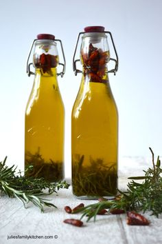 Chilli and Herb Infused Oil