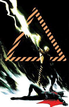 Batman Beyond Universe (Virgin Cover) (Cover Artist: Rafael Albuquerque) On Sale: Batman Beyond, Comic Books Art, Comic Art, Rafael Albuquerque, Dc World, Superman Wonder Woman, Batman The Dark Knight, Gotham City, Dark Horse