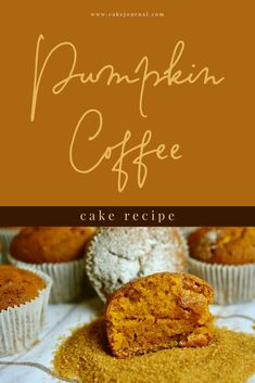 Pumpkin Coffee Cake is best fresh out of the oven and will run your mornings smoother if you plan ahead and bake your cake before the day. Easy Cake Recipes, Simple Recipes, Easy Desserts, Fall Recipes, Dessert Recipes, Pumpkin Recipes, Vegan Coffee Cakes, Pumpkin Coffee Cakes, Fall Treats