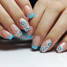 Nail art styles square measure trendiest nail art of It becomes a relentless favorite for each woman. It provides that further edge to your nails and brightens up your uninteresting nails. Cute Nail Art, Gel Nail Art, Nail Manicure, Cute Nails, Pretty Nails, My Nails, Manicure Ideas, Classy Nail Designs, Fall Nail Art Designs
