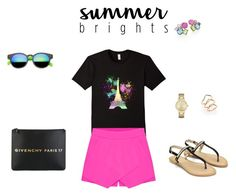 """""""Summer brights..."""" by sebolita ❤ liked on Polyvore featuring Givenchy, Ippolita, Kate Spade and ABS by Allen Schwartz"""