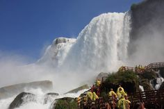 Niagara Falls - Cave-Winds @ one Of the World's Fair