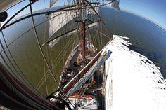 Die Aphrodite, das Flaggschiff des Festivals, wird wieder für fotografische und touristische Highlights zur Verfügung stehen