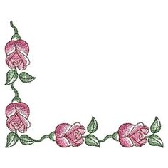Sketched Roses 2, 6 - 5x7   What's New   Machine Embroidery Designs   SWAKembroidery.com Ace Points Embroidery
