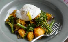 Sweet potato and Tenderstem broccoli make a delicious and nutritious combination that's packed with vitamins, minerals and fibre, so why not give this hash recipe a go?