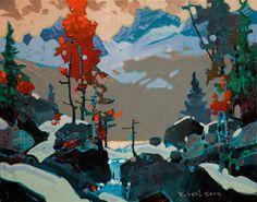 Colour in Yoho, by Robert Genn 11x14 Acrylic