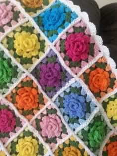 More of My Homies Granny Rose Afghans!