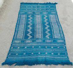 rugsblue rug turkish rug morrocan rug vintage rug by nicerugs