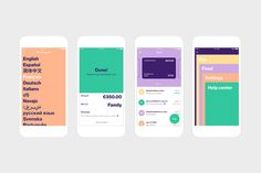 SF Design Week exhibition: What if Bank of America were Scandinavian? Ui Design Mobile, App Ui Design, User Interface Design, Sf Design Week, Fancy App, App Design Inspiration, Marca Personal, Branding, Website Design Layout