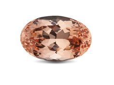 MORGANITE: Interesting Fact:  Morganite was named after J.P. Morgan, one of the greatest financiers in history.