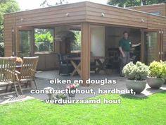 Luxe aanbouw met vouwdeuren van Van Aarle Kozijnen