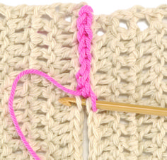 Many crochet patterns are made in pieces that must be attached. Here are four of the most popular joining techniques.