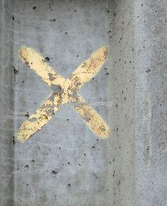 concrete + gold