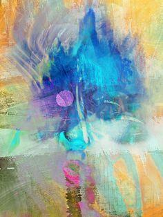 'The blue face' von Gabi Hampe bei artflakes.com als Poster oder Kunstdruck $20.79