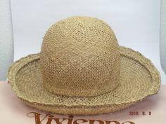ヴィヴィアンウエストウッド ワールズエンド ボーラーハット ストロー(麦藁帽子):51,800円  イギリス・ロンドンのワールズエンドで買付した本物(並行輸入品)です。