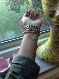 moon tattoo | Tumblr