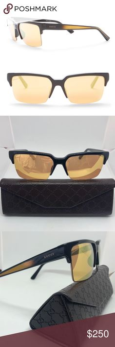 d0afb8f09e67e NEW ✨ Gucci Modified Retro Sunglasses Brand new 2018 Gucci Women s Modified  Retro Sunglasses 54-