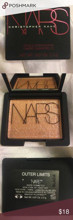 Nars Eye Shadow Christopher Kane Collection Nars + Christopher Kane collection. Limited edition single shimmer eyeshadow. Never been used. NARS Makeup Eyeshadow