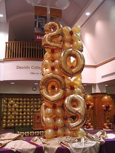 Image result for sweet 16 balloons columns
