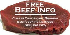 What cuts are best to use, English to Spanish translations, grilling information and more.