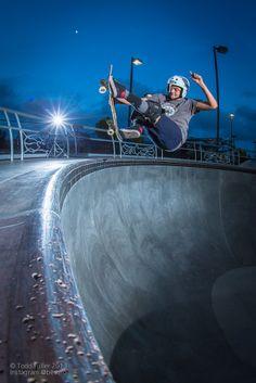 Dakota Olave, FS nosebone at Fremont Skatepark. Photo: Todd Fuller