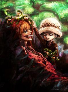 Donquixote Rocinante & Law - One Piece