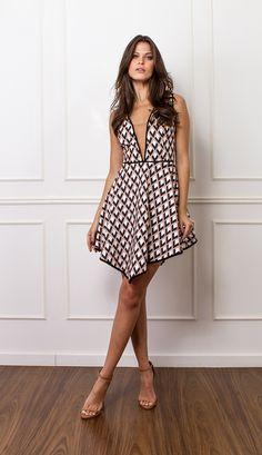 VESTIDO PONTA - VE21935-G1 | Skazi, Moda feminina, roupa casual, vestidos…