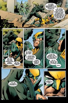 This is the second page of interior art from Wolverine drawn by Alan Davis. Arte Dc Comics, Marvel Comics Art, Marvel Dc, Comic Book Pages, Comic Books Art, Comic Art, Book Art, X Men Funny, Comics Love