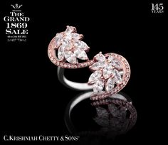 3 days left! C. Krishniah Chetty & Sons™ celebrates The Grand 1869 Sale till Sunday,24th May 2015. Call 40001869 for more details.  Get 9% OFF on this Diamond Ring...