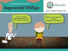 Book an appointment with our doctor today and make Segmental-vitiligo a memory. Visit our website @ http://www.vitiligo-surgery.com/