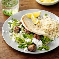 Gyro, with summer squash in meat