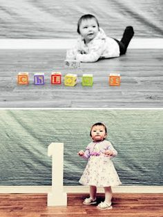 Thinking of cute birthday photos.