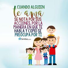 Yo amo a mi familia www.familias.com frases de amor, matrimonio, familia, mamá papá hermanos inspiración motivación