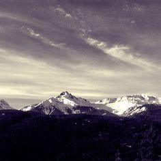 Tantalus Range, Sea to Sky Highway. Heading home after a great weekend in Whistler for #deepwinter.
