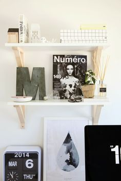 Homestyle Magazine | Home Feature    The Design Chaser Office Inspiration
