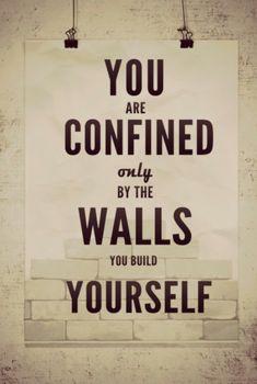 break these walls!