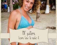 Pattern Brazilian bikini crochet set by Crochetbikinisbyfabi
