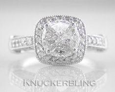 1.85 Carat Solitaire-Style Diamond and 18ct White Gold Ring Art-Deco Design | Orologi e gioielli, Gioielli di lusso, Anelli | eBay!