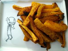 Spicy Butternut Squash Fries | food comas