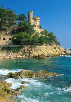 Costa Brava, Spain -- we spent a glorious week here with the kids.