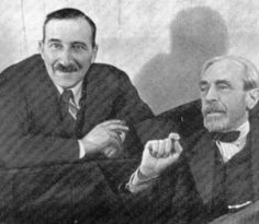 Stefan Zweig y Paul Valéry. Essayist, Playwright, Meeting Of The Minds, Sigmund Freud, Stefan Zweig, Writers And Poets, Important People, World Of Books, Writers