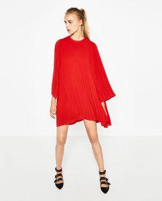PLEATED DRESS-TRENDING PICKS-WOMAN | ZARA United States