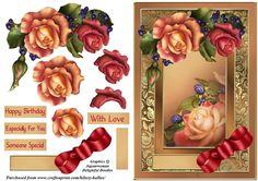 Roses & Berries - CUP728329_819 | Craftsuprint
