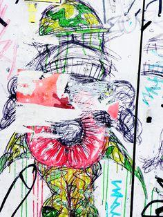 shoreditch london street art illustrations