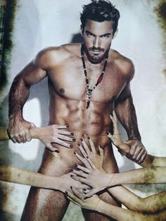 Aaron Diaz...he needs more hands than Adam Levine ...just saying :)