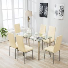 8 amazing glass dining table rectangular images glass dining table rh pinterest com