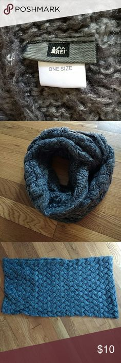 Winter Scarf REI, warm, soft, cable knit scarf REI Accessories Scarves & Wraps
