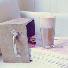 Protein coffee before breakfast.