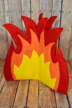 DIY Campfire - Step One Flames